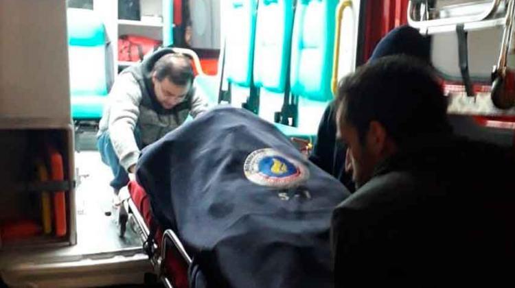 Dos bomberos graves tras caer desde 10 metros en un entrenamiento