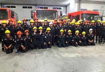 Bomberos Voluntarios de Rojas cuenta con cascos de última generación