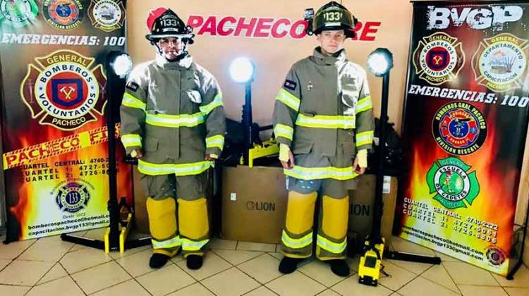 Nuevo equipamiento para Bomberos de Gral. Pacheco