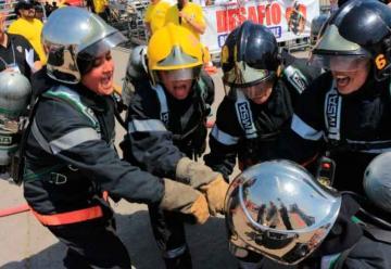 Equipo femenino de Chillán ganó «Desafío Bomberos de Chile»