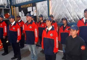 Recibieron su certificación como Bomberos Voluntarios