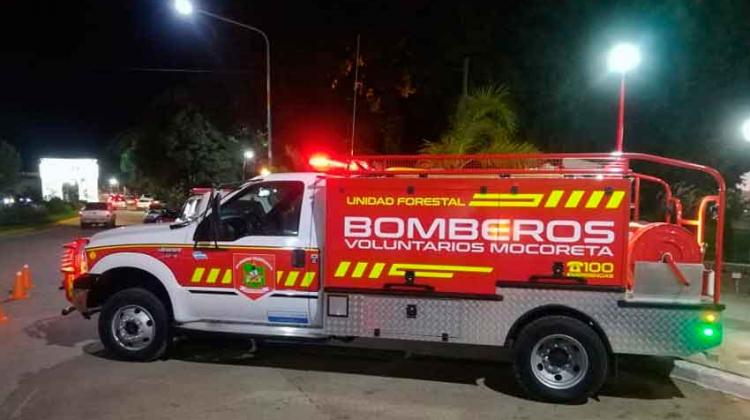 Nueva unidad de Bomberos voluntarios de Mocoreta