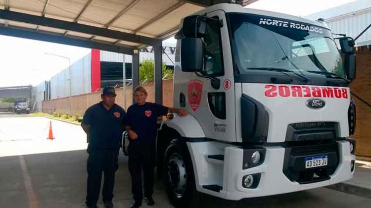 Bomberos Voluntarios de Juan Pujol suma nueva unidad