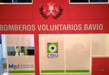 Nuevas obras en Bomberos Voluntarios de Bavio