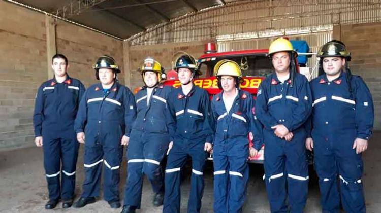 Bomberos Voluntarios de Las Vertientes inauguraron su cuartel