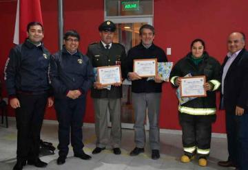 Cuerpo de Bomberos de Retiro celebra su aniversario número 56