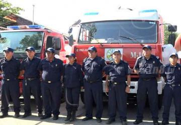 Entregan dos camiones para nueva estación de bomberos en Ometepe