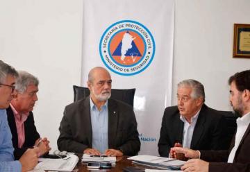 Nueva reunión de trabajo entre Bomberos y Protección Civil