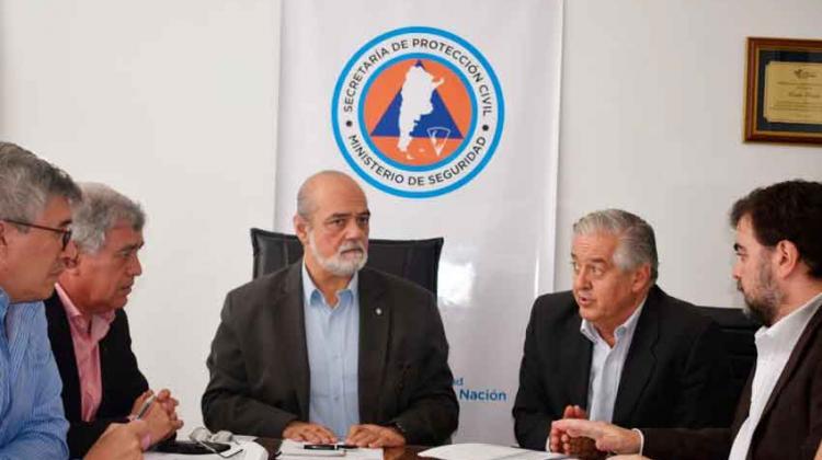 Nueva reunión de trabajo entre Bomberos y la Secretaría de Protección Civil