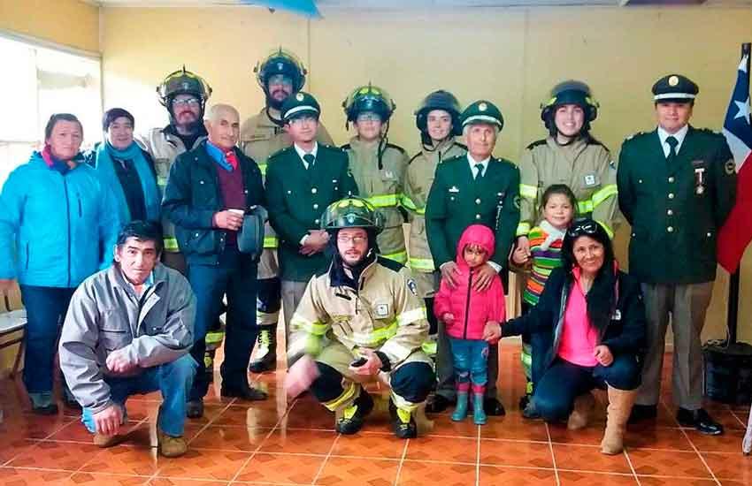 Bomberos de Perez Millan presentó nueva unidad Cisterna