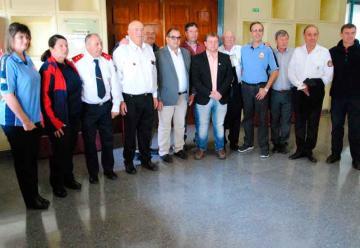 Entregaron las primeras pensiones para los bomberos voluntarios