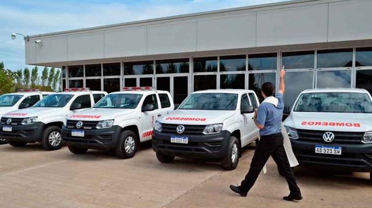 Cinco nuevas unidades móviles de la Federación Santafesina