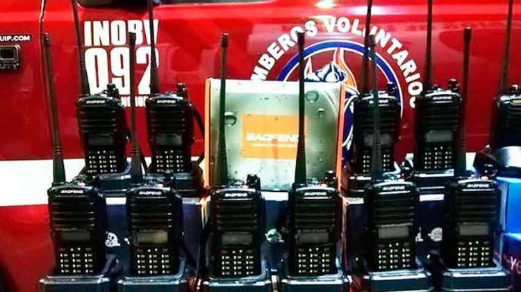 Bomberos Voluntarios de Lincoln invierte en tecnología