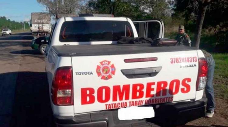 Encuentran al jefe de Bomberos de Tatacuá Tabay transportando drogas