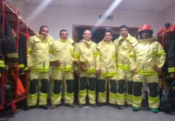 Bomberos Voluntarios de Laboulaye con nuevos equipos
