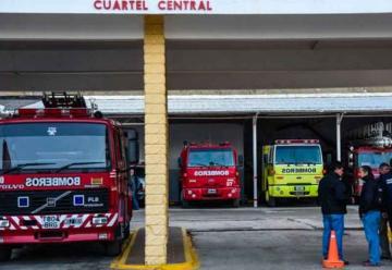 Venta de lentejas a beneficio de los Bomberos de Comodoro Rivadavia