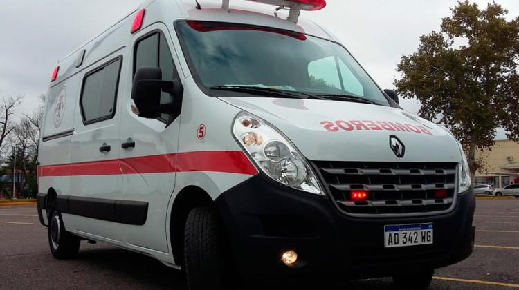 Nueva unidad de Rescate para Bomberos Voluntarios de Los Surgentes