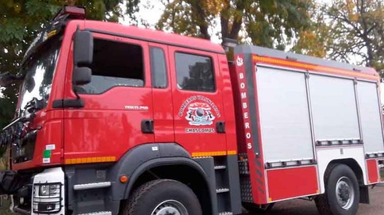 Bomberos de Chascomús adquirió un autobomba 0 Km