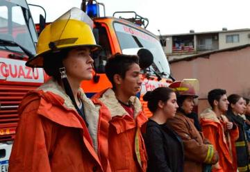 35° Aniversario de los Bomberos Voluntarios de Iguazú