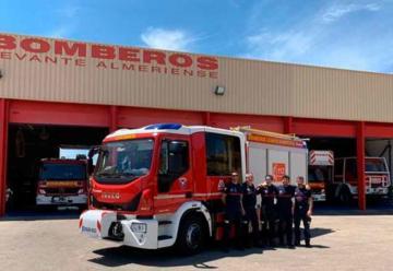 Bomberos del Levante ya disponen de un nuevo camión
