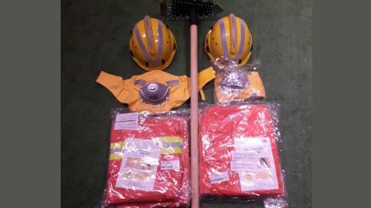 Bomberos recibieron equipamiento para incendios forestales
