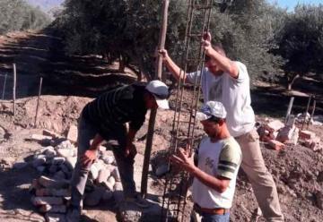 Bomberos Voluntarios de Pocito construyen su propio cuartel