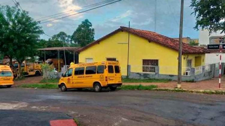 Bomberos de la ciudad de Encarnación quedaron sin cuartel