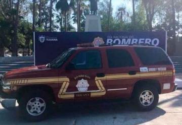 Roban unidad de bomberos en Las Palmas