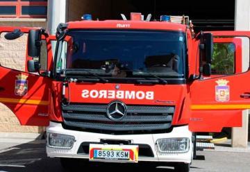Nueva autobomba urbana ligera para los bomberos de Úbeda