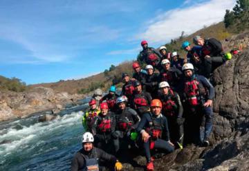 Entrenamiento de la Brigada de Rescate Acuático de la Federación de Córdoba