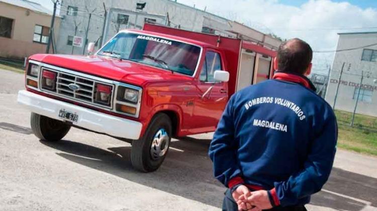 Presos restauran unidad de Bomberos Voluntarios de Magdalena