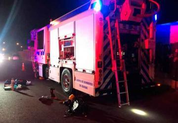 Bombero fue atropellado mientras atendía emergencia en Iquique