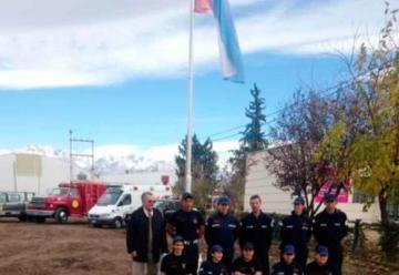 Entregaron terrenos para Bomberos Voluntarios en San Carlos