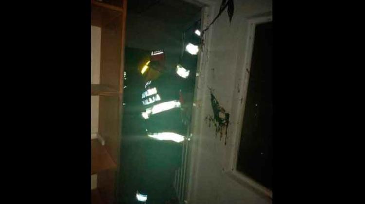 Explosión en Guadalajara deja tres bomberos lesionados