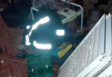Robaron en el cuartel de Bomberos Voluntarios de Pinedo