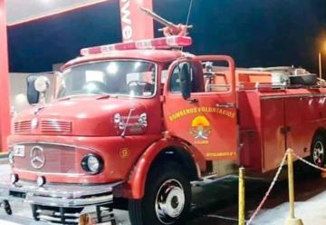 Bomberos Voluntarios de Irigoyen ya cuentan con autobomba