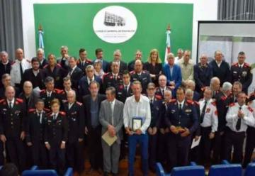 Entregaron reconocimientos a Bomberos Voluntarios entrerrianos