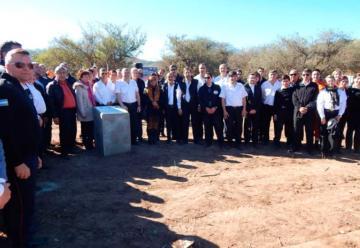 Colocaron la Piedra Fundamental de la nueva Sede de la Federación de Córdoba