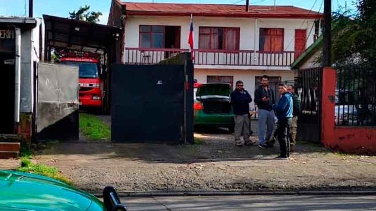 Bombero resulta con quemaduras tras explosión en Compañía de Bomberos