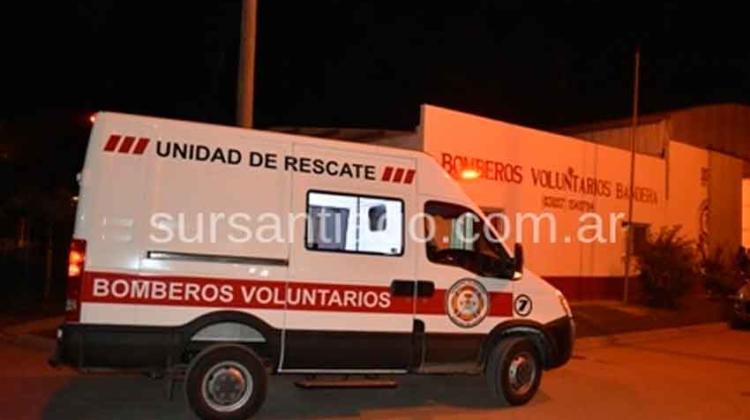 Bomberos Voluntarios de Bandera presentaron su nueva Unidad de Rescate