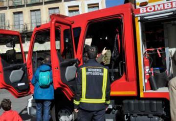 Nuevo vehículo autobomba nodriza pesada para Bomberos de Segovia