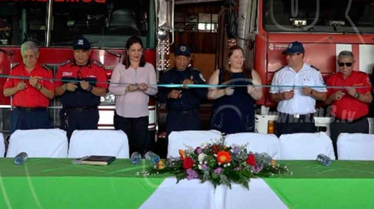 Inauguran estación de Bomberos en Veracruz