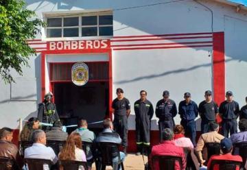 Inauguran el nuevo cuartel de Bomberos Voluntarios