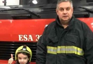 La historia del jefe de los bomberos de Lomas de Zamora