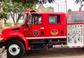 Nuevo vehículo para Bomberos Voluntarios de Neiva