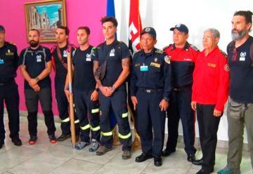 Instructores españoles llegan a Nicaragua para capacitar a bomberos