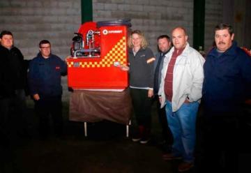 Bomberos de Sierras Bayas recibió una importante donación
