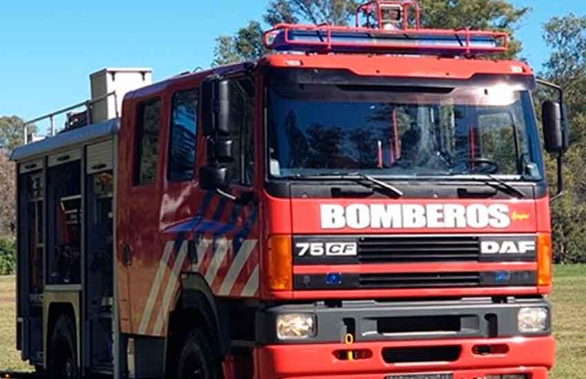 Celebración y nuevo autobomba en Colonia Sere