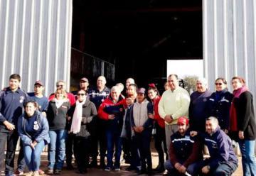 El presidente del Consejo de Bomberos visito Santiago del Estero