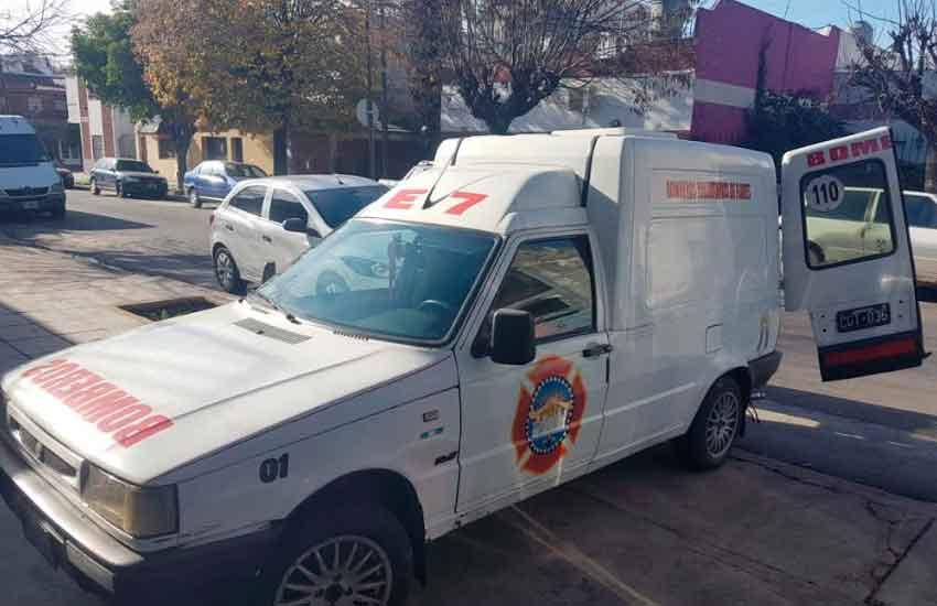 Unidad de ataque rápido de Bomberos Voluntarios San José de Flores